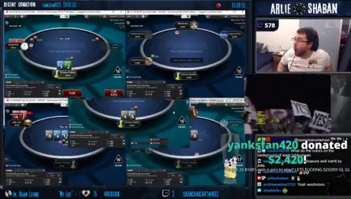 Here's How One Poker Twitch Streamer Reacted to Receiving a $2400