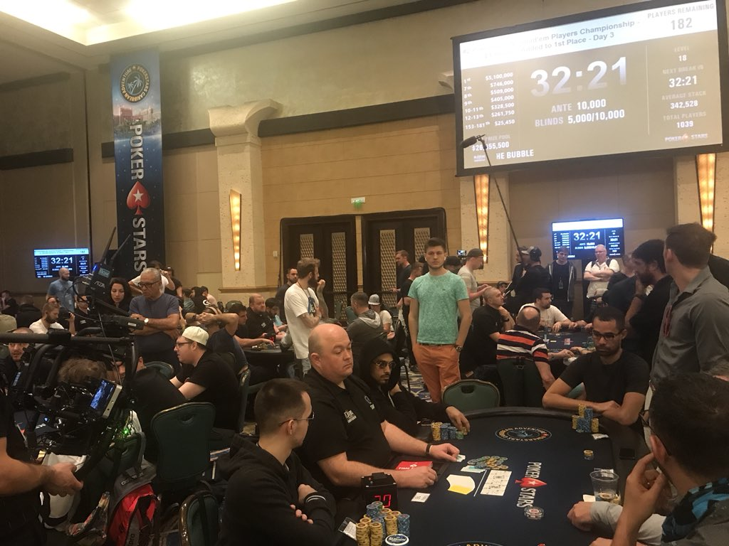 Tension Was High on the PSPC Bubble | F5 Poker