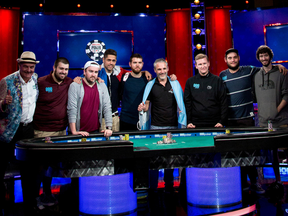 The world series of poker main event final table starts tonight f5 poker - Final table world series of poker ...